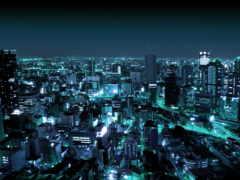 город, ночной, ночь Фон № 149479 разрешение 2560x1600