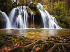 seven, водопад, india