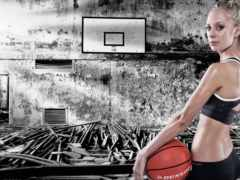 спорт, baloncesto, dефчонки