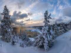 winter, карелия, oir