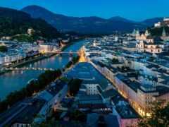 salzburg, austrian, город