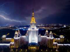 свет, город, москва