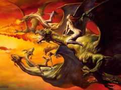 драконы, дракон, новых