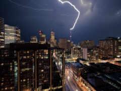 небо, тучи, lightning Фон № 68112 разрешение 1920x1200