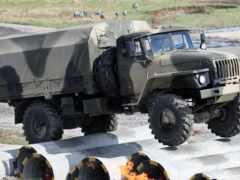 truck, урал, военный