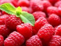 малина, еда, ягоды