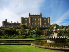 castle, culzean, замки