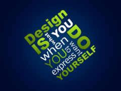 портфель, графического, дизайнер