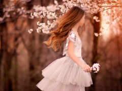 весна, молодой, скучать
