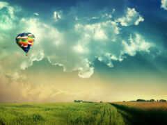 небо, облако, amino