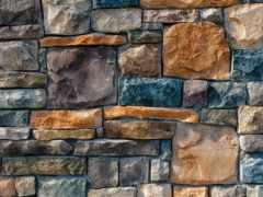 камень, укладка, стена