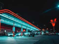 neon, car, вести
