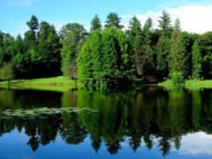 коллекция, озера, природа