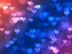 сердце, красивый, oir