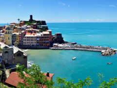 vernazza, italy, панорама