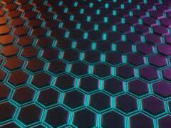 hexagon, хороший, abstract