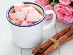 розовый, cup, chocolate