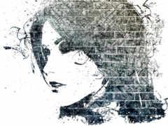 graffiti, drawing, глаза