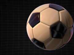 мяч, ее, leather