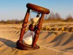 часы, песочные, песок