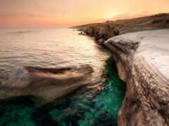 кипр, море, побережье