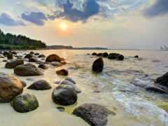 пляж, punggol, singapore