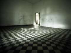 checker, комната, white