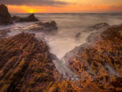 скалы, острые, море