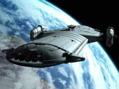 cosmic, корабль, космос