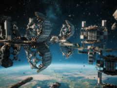 космос, станция, game