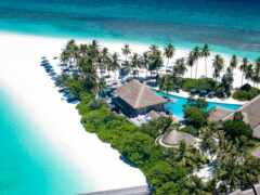 пляж, house, maldives