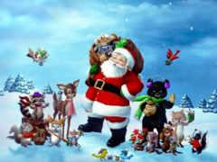 christmas, friends