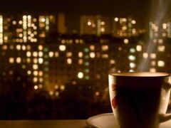 кофе, горячий, noch