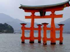 itsukushima, shrine, япония