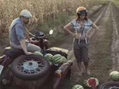 мотоцикл, девушка, steam