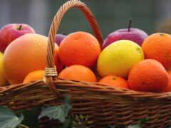 оранжевый, плод, lemon