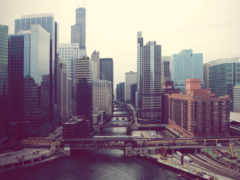 город, perspective, high