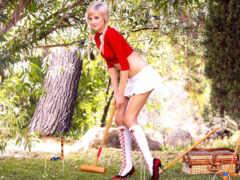 devushki, гольфах, красивые