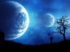 ночь, graves, world