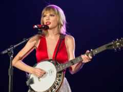 taylor, swift, banjo