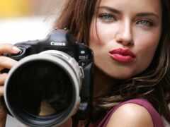 реклама, фотоаппарат, eos