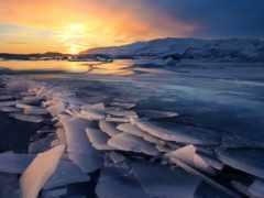 природа, iceland, лед