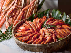 shrimp, moreprodukt, корзина