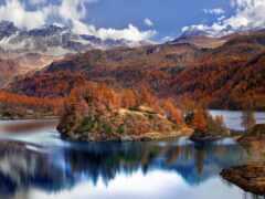 озеро, world, around