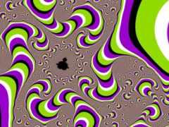 взгляд, точке, illusions