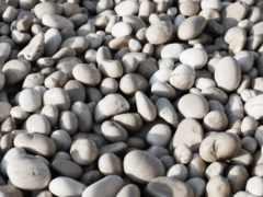 камни, галька, круглые