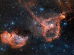 звезды, туманность Фон № 24110 разрешение 2880x1800