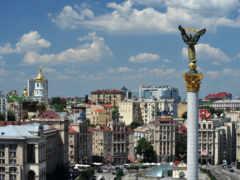 киеве, square, украины