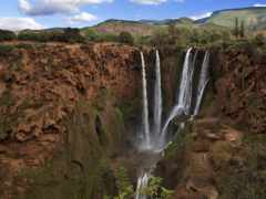 moroccan, узуд, водопад