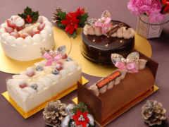 торт, новый год, мороженое